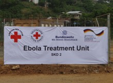 Liberia, Monrovia: Das deutsche Ebola Behandlungszentrum (ETU), Quelle: DRK Generalsekretariat